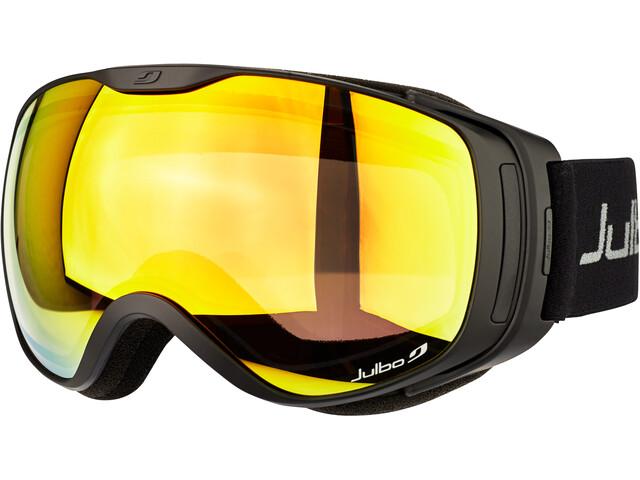 Julbo Luna Lunettes de protection, black/snow tiger/multilayer fire